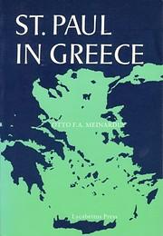 St. Paul In Greece por Otto F. A. Meinardus