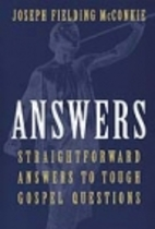 Answers: Straightforward Answers to Tough…