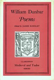 Poems (Clarendon Mediaeval & Tudor) af…