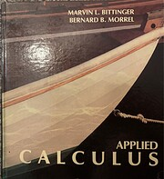 Applied calculus de Marvin L Bittinger