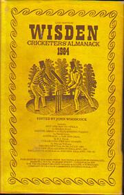 Wisden Cricketers Almanack 1984 av John…