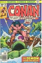 Conan the Barbarian # 69 by Roy Thomas