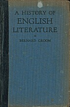 A history of English literature by BERNARD…