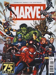 Marvel 75th Anniversary Magazine av Alex…