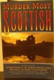 Murder Most Scottish de Et al (editors)…