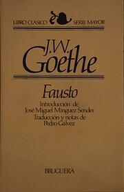 Fausto af Johann Wolfgang von Goethe