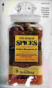 The Book of Spices por Frederic Rosengarten