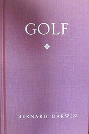 Golf by Bernard Darwin