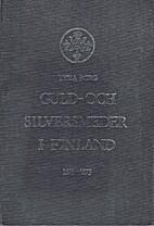 Guld- och silversmeder i Finland deras…