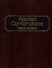 Applied Combinatorics por Fred Roberts