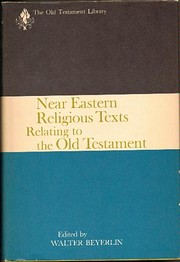 Near Eastern religious texts relating to the…