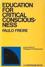 Education for Critical Consciousness av…