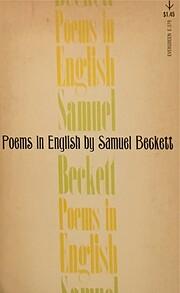 Poems in English por Samuel Beckett