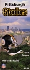 Pittsburgh Steelers 1989 Media Guide by…