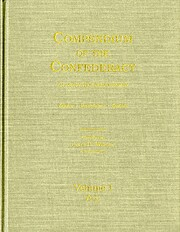 Compendium of the Confederacy: An Annotated…