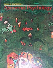 Abnormal Psychology de David C. Rimm