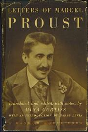 Letters of Marcel Proust por Marcel Proust