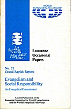 Lausanne Occasional Papers, No. 21 Grand…