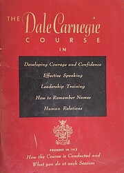 The Dale Carnegie Course in Developing…
