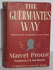 The Guermantes Way av Marcel Proust