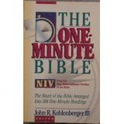 The One-Minute Bible: New International…