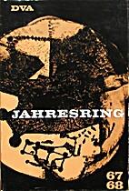 Jahresring 67/68: Beiträge zur deutschen…