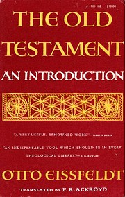 The Old Testament : An Introduction por Otto…