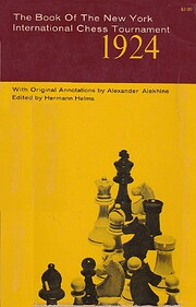 THE BOOK OF NEW YORK INTERNATIONAL CHESS…