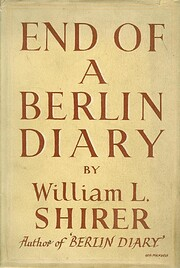End of a Berlin diary af William L. Shirer