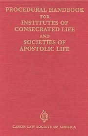 Procedural handbook for institutes of…