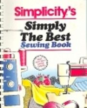 Simplicity's simply the best sewing…