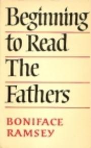 Beginning to Read the Fathers av BONIFACE…