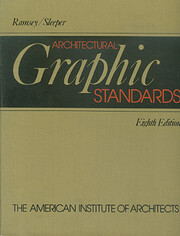 Architectural Graphic Standards, 8th edition…