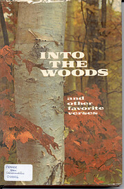 Into the Woods and other Favorite Verses af…