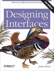 Designing Interfaces de Jenifer Tidwell