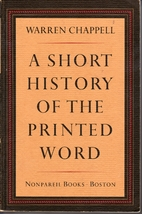 A Short History of the Printed Word by…