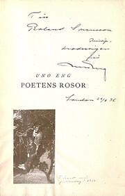 Poetens rosor – tekijä: Uno Eng