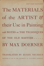 The Materials of the Artist by Max Doerner