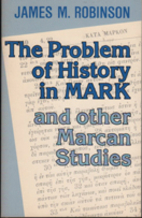 The problem of history in Mark and other…