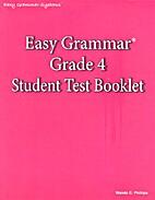 Easy Grammar: Grade 4 Student Test Booklet…