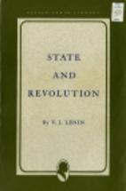 State and Revolution by V. I. Lenin