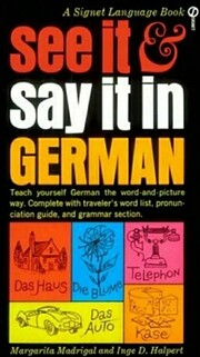 See It and Say It in German por Inge D.…