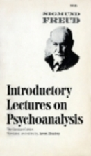 Introductory Lectures on Psychoanalysis by…