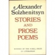 Stories and Prose Poems de Alexander…