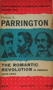 The Romantic Revolution in America,…