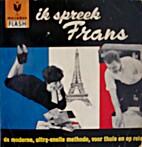 Ik spreek Frans by Julien Tondriau