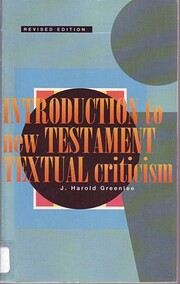 Introduction to New Testament Textual…