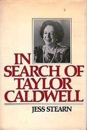 In Search of Taylor Caldwell av Jess Stearn