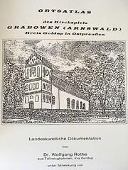 Ortsatlas des Kirchspiels Grabowen…
