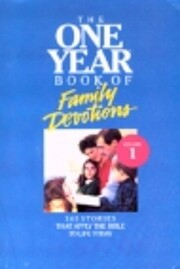 One Year Book of Family Devotions, Vol. 1 af…